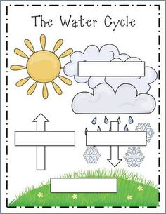 Cloud, Weather, and Water Cycle Study Pack from elizabethvdp617 on TeachersNotebook.com (10 pages)