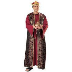 Gaspar Three Wise Men Costume - Standard - Chest Size 40-44