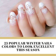 Popular Winter Nails Colors to Look Excellent This Season Winter Nails, Coffin Nails, Nail Colors, Nail Art Designs, Long Fingernails, Nail Design, Nail Art