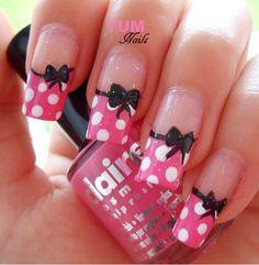 Minne mouse manicure!