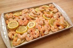 Try this simple and easy Oven Roasted Shrimp with Lemon and Garlic recipe on G-Free Foodie