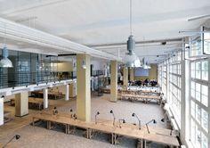 Espacios para trabajar: las oficinas de Aeria Games en Berlín