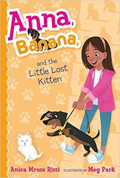 Anna and Banana have found a kitten! But when Banana accidentally scares the kitten away during their afternoon walk, Anna enlists her two best friends, Sadie and Isabel, for OPERATION CATCH THE KITTEN. Anna can't image such a tiny kitten living outside all by himself, and she's determined to find him a good home. But catching a kitten is trickier than Anna thought—kittens are easily scared and very stealthy. Then there's the problem of finding him a good home.