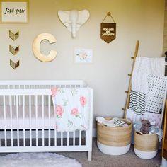 Nursery nook = LOVE.
