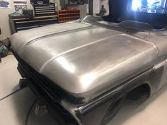 Cleveland Design - Andy's 1961 Chevrolet C10 Fleetside - Cleveland Design Custom Chevy Trucks, C10 Chevy Truck, Classic Chevy Trucks, Chevrolet Trucks, Old Chevy Pickups, Custom Metal Fabrication, Center Console, Cleveland, Metal Working