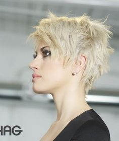 photo from prettydesigns.com - Choppy Short Pixie Hairstyle
