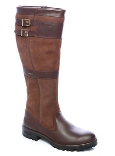 Womens Knee-High Leather Boot