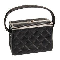 """CHANEL  Quilted  """"Camera""""  Box Handbag   From a collection of rare vintage handbags and purses at http://www.1stdibs.com/fashion/accessories/handbags-purses/"""