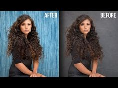 Smart Way to Quickly Mask Hair and Change Background in Photoshop Using Overlay - YouTube