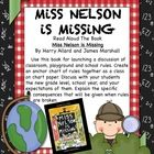 Free Mini Unit: Miss Nelson Is Missing This nine page mini unit has ideas, discussion questions, games, activities, graphic organizers, projects ...