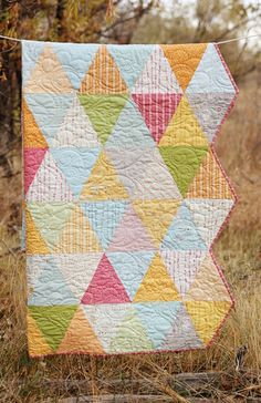 Noteworthy - I love the edges on this quilt!