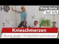 Knieschmerzen // Einfache & effektive Übungen gegen Schmerzen in der Kniekehle - YouTube