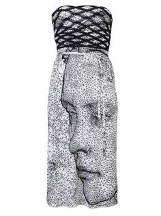 JEAN PAUL GAULTIER VINTAGE - Printed dress 6