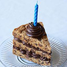 Chocolate Chip Cookie Cake | MyRecipes.com