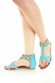 Cute summer sandal