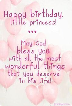 Happy First Birthday Quotes Moderna Happy Birthday Princess Happy 1st Birthday Princess, Happy Birthday Little Girl, Happpy Birthday, Birthday Greetings For Daughter, Daughter Birthday, Birthday Wish For Niece, Happy Birthday Baby Sister, Happy Birthday Massage, Happy Birthday Quotes For Friends