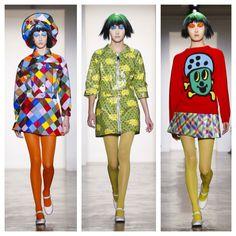 Cuteness and Weirdness at Jeremy Scott FW15 #nyfw #fashion