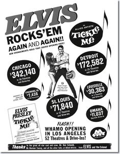 Tickle Me my favorite Elvis movie!!