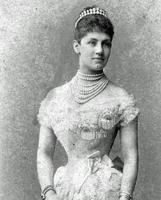 Charlotte, Princess of  Schaumburg-Lippe second wife of King Wilhelm II of Württemberg.