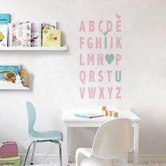 adesivos para quarto de bebe de letras