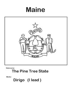 Pennsylvania State Flag Coloring Page | State Flag Coloring Pages ...