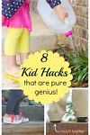 Being a parent is tough business, and I'll welcome any secrets that make raising kids a little easier. Here are 8 genius kid hacks you just have to try!Pool Noodle Sprinkler For around a buck, you can...