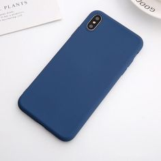 Soft Silicone Pastel Colors Phone Cases For iPhone X XS Max Back Cover Cases – i-Phonecases.com Iphone 6, Iphone 8 Plus, Iphone Cases, Leather Phone Case, Mobile Phone Cases, Iphone Models, Pastel Colors, Phone Accessories, Soft Leather