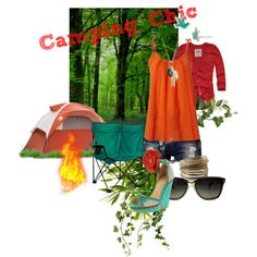 Camping Chic, created by brandi-robin on Polyvore