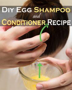 Diy Egg Shampoo And Conditioner Recipe