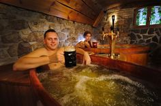 The Best Beer Tasting in the World Also Includes a Beer Bath Chefs, Czech Beer, Book A Hotel Room, Best Vacation Destinations, Unique Restaurants, Enjoy Your Vacation, Beer Brands, Spa Deals, Good Massage