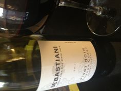 Sebastiani 2011 Pinot Noir - very light, yet flavorful -cherry & herbal - at an exceptional price (Costco $13)