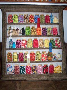 Mason jar quilt