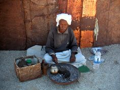 Cooking Coffee - Marsa Alam - Egypt  I love Egyptian coffee!  Drinking some in Egypt would be memorable, indeed! #treasuredtravel