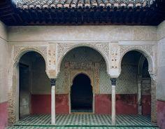 Palacio de los Leones. East porch of the Patio del Harén