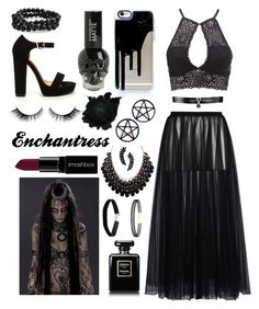 """Enchantress DIY costume"" by csrose on Polyvore featuring Charlotte Russe, Valentino, Cristabelle, Marina Fini, Miss Selfridge, LULUS, Bling Jewelry, Fallon and Smashbox"
