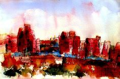 Canyonlands 02 Painting by Anne Duke