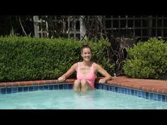 4 Moves to Burn Major Calories in the Pool | Class FitSugar - YouTube