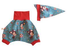 Baby - Set - Kopftuch u. Pumphose - Hafenkitz  von Me Kinderkleidung auf DaWanda.com