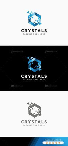 Crystals And Stones People Printing Metal Nervous System Crystal Design, Glass Design, Web Design, Logo Design, Logos, Logo Branding, Gem Logo, Candle Logo, Stone Facade