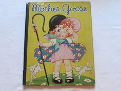 #MotherGoose 1934 Hardcover Children's Book http://etagere-antiques.myshopify.com/products/mother-goose-1934-hardcover-childrens-book?utm_content=bufferabe15&utm_medium=social&utm_source=pinterest.com&utm_campaign=buffer #gotvintage