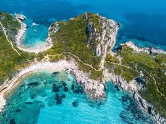 Corfu, an island off Greece's northwest cost, is defined by rugged mountains and a resort-studded shoreline. But its rich culture is also… Greek Islands To Visit, Greece Islands, Mykonos Greece, Crete Greece, Athens Greece, Santorini, Most Beautiful Greek Island, Beautiful Islands, Corfu Town