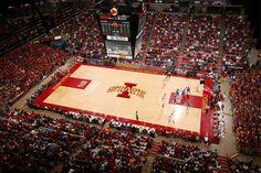 Nothing beats Hilton Coliseum...