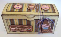 caixa para chocolates.