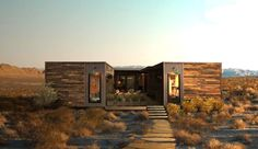 Joshua Tree ranch with LivingHomes' zero energy prefab home is now on sale | Inhabitat - Sustainable Design Innovation, Eco Architecture, Green Building
