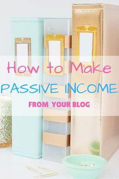 How to make passive income from your blog. This month, my blog made over $600 for under three hours of work! Here I am revealing all of my secrets so you can make a passive income from your blog, too!