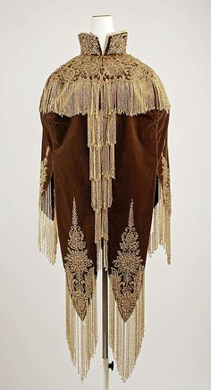 Cape - Probably American    c.1880's  -  The Metropolitan Museum Of Art