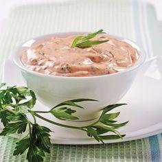 Sauce Pour Fondue, Fondue Raclette, Sauces, Dip Recipes, Mayonnaise, Chutney, Pesto, Baking, Breakfast