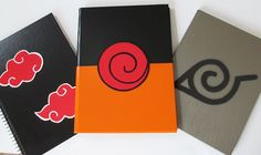 Custom ideas: DIY: How to Make Notebooks Naruto Cute Canvas Paintings, Small Canvas Art, Mini Canvas Art, Diy Canvas, Anime Diys, Anime Crafts, Otaku Anime, Naruto Party Ideas, Mini Toile