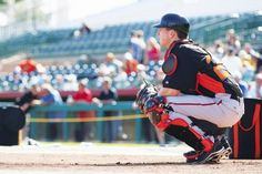 This week Buster Posey got behind the dish for his first spring training game of the season. This was his first action since being injured May 25.