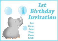 Free Printable 1st Birthday  Cards. http://1st-birthday-invitations.com/free-printable-birthday-cards/